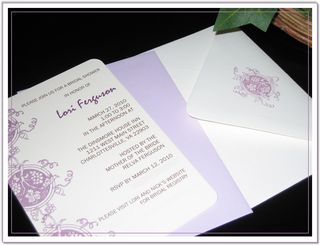 Lori Bridal Shower Invitation