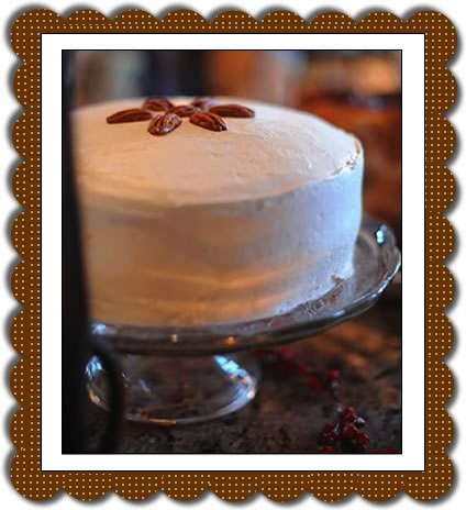 Pumpkin layer cake frame