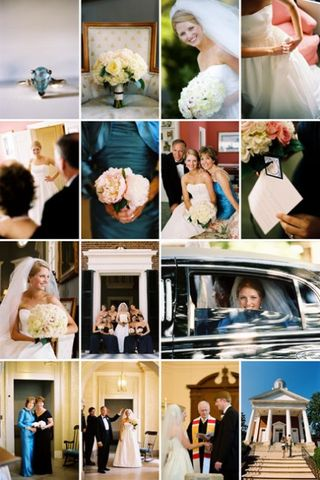 and Southerninspired reception We loved all the details this wedding