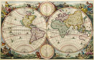 Antique-worldmap