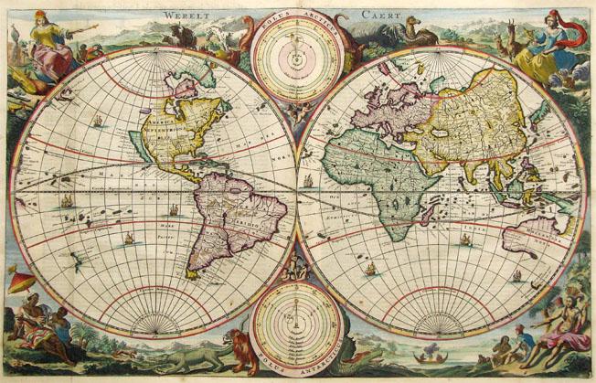 Antique-worldmap
